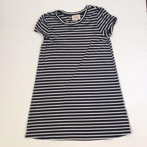 Hannah Banana blue and white stripe t-shirt dress